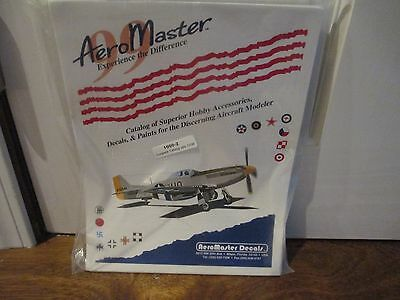 Aeromaster Catalog of Aircraft hobby accessories