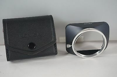 KONICA Lens Hood for 24mm -28mm Lenses Complete with Carry Case