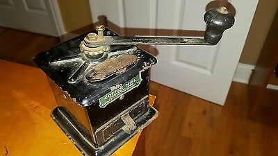 Antique Universal 109 Coffee Mill Grinder Circa 1905 New Britain Connecticut