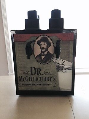 NEW Dr McGillicuddy's Shot Chiller Machine Dispenser 4 bottle 2 spout