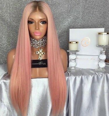 Freedom Couture My Baby Girl Chrisspy Wig  Pink Full Lace
