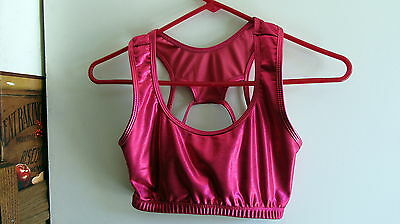 Jr's Dance Top Gia-Mia Red XSmall