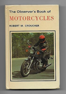 The Observer's Book of Motorcycles 1980 by Robert Croucher