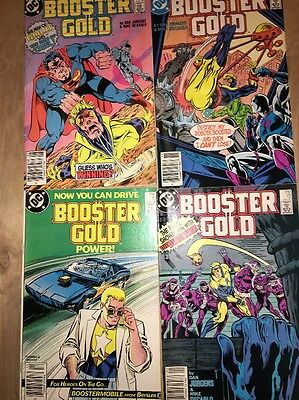 Booster Gold. Lot Of 4 Comics #7 #10 #11 #12