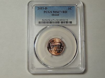 2013 D PCGS MS68 RD Shield Lincoln Penny