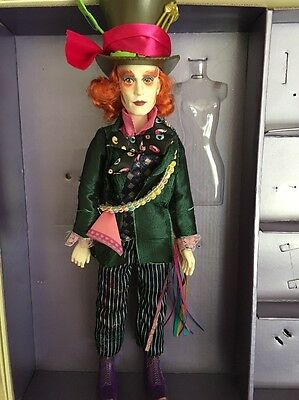 Disney Mad Hatter Doll From Alice Through The Looking Glass
