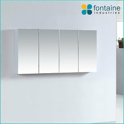 Bathroom Mirror Cabinet Shaving Medicine Storage 1200 x 600 NEW 4 Doors
