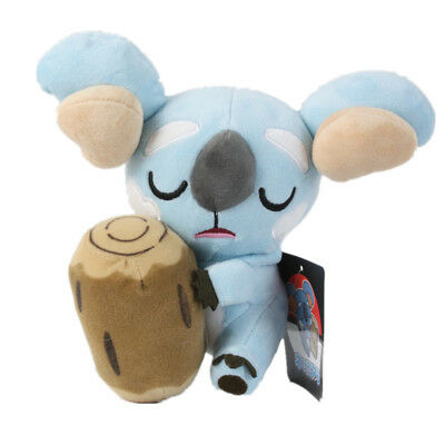 Pokemon Center Sun and Moon Plush Komala Figure Stuffed Doll Toy 8 inch Gift