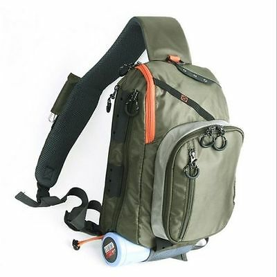 Green Fishpond Summit Fly Fishing Sling Pack Bag Fish Chest Cross Shoulder Bag
