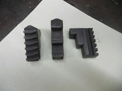 Lathe Chuck Replacement Jaws     Set of 3 Outside