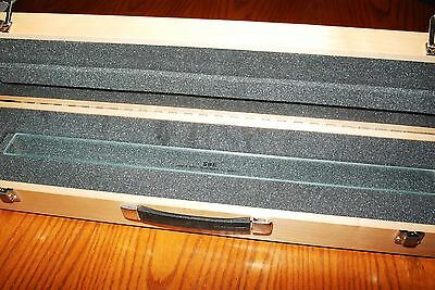 """SBE 24"""" Inch Glass Precision NIST Traceable Certified Calibration Master Scale"""