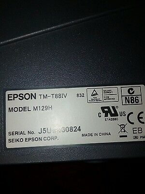 Epson TM-T88IV Point Of Sale (POS) Thermal Printer