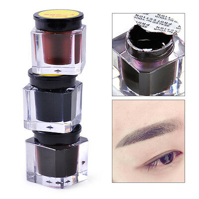 Microblading Permanent Eyebrow Tattoo Pigment Ink Beginners Makeup Practice
