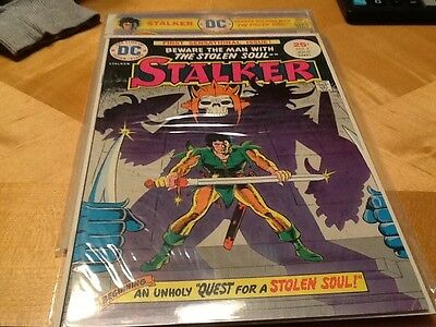 Stalker #1 (Jun-Jul 1975, DC) and issue # 2