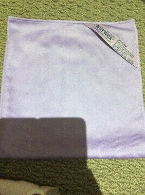 norwex purple window cloth new free postage