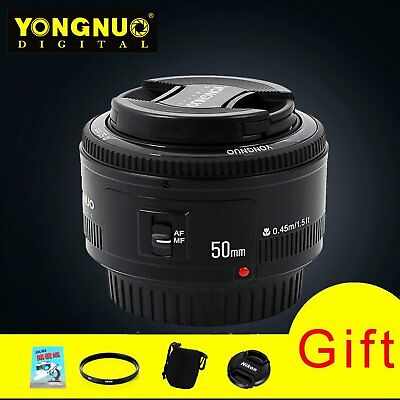 YONGNUO YN50mm F1.8 Lens Large Aperture Auto Focus Lens For Canon EOS Camera