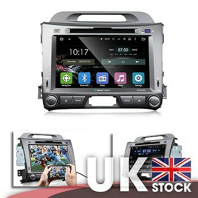 """Android 8"""" Multimedia Car DVD GPS with Mutual Control for KIA Sportage Series 3"""