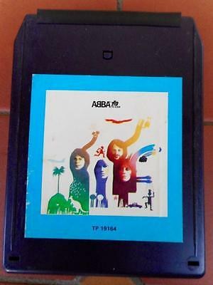 Vintage Scarce ABBA The Album 8-Track Cassette Tape Perfect Working Order