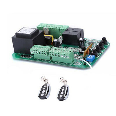 Gate motor controller board with 2 remote for sliding gate opener PY600AC/ACL
