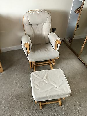 Nursing Chair And Stool