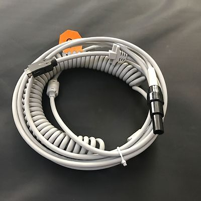 GE MAC5000/5000ST 2016560-001 CAM 14 Coiled Patient Cable Compatible