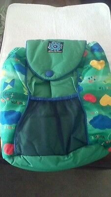 Mamas & Papas Changing Bag with Mat green. Backpack