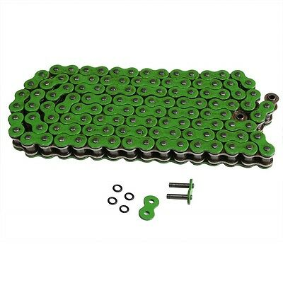 Motorcycle 530 120L O-Ring Chain Suzuki 530 Pitch 120 Link High Quality Green