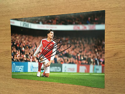 Hector Bellerin Arsenal Fc Gunners Football 12X8 Hand Signed Photo Autograph