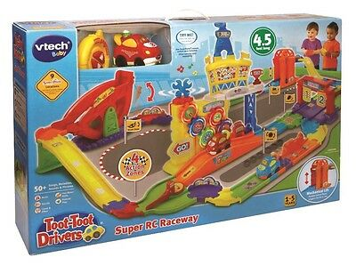 NEW Vtech Baby Toot Toot Drivers Super RC Raceway from Mr Toys Toyworld