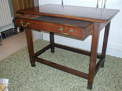 Antique Oak hall/Side table