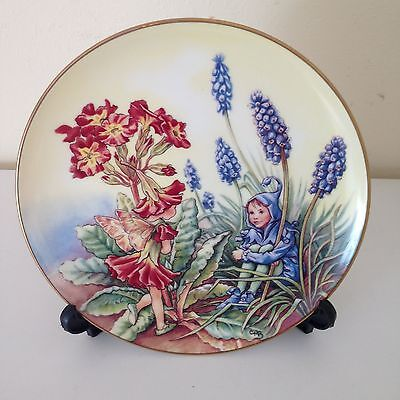 The Flower Fairies Plate - The Polyanthus Fairy