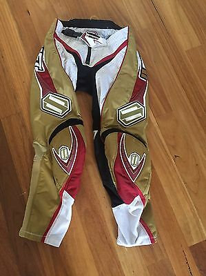 Shift Motocross Pants Size 32 And Jersey Size Small