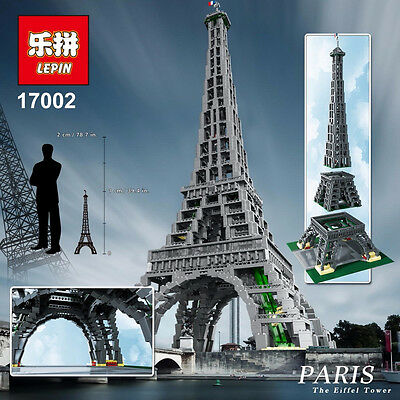 Eiffel Tower 17002 - compatible with 10181 - **UK Business**