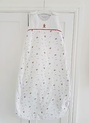 C.E. The Little White Company Baby Sleeping Bag Gingerbread 18-36 Months 2.5 tog