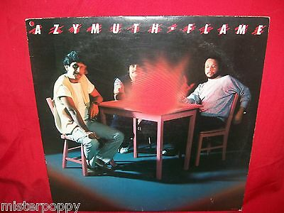 AZYMUTH Flame LP USA 1984 MINT-