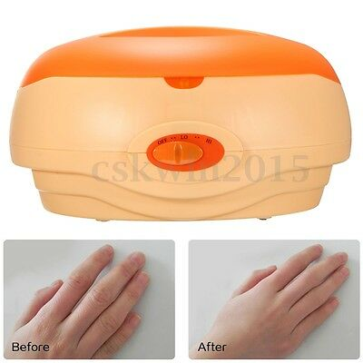 180W Temp 2 Level Control Therapy Bath Wax Paraffin Heater Pot Warmer Salon Spa