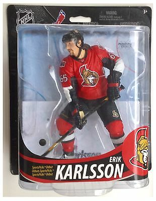 "Erik Karlsson Ottawa Senators NHL McFarlane Ice Hockey 6"" Action Figure"