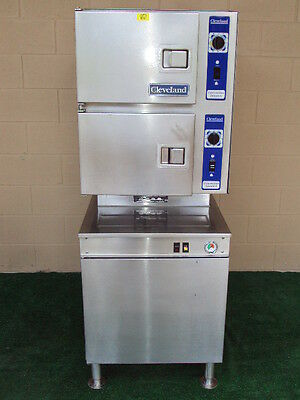"""Cleveland 24Cgm200 Gas Convection Steamer  With H20 Filter System """"nice"""""""