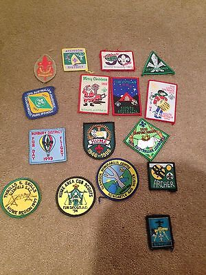 Assorted Scout Badges
