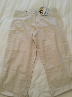 Girls Fiorucci Cargo Pants Size 14 New and Unused with tag intact
