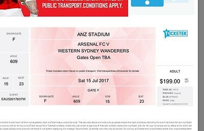 Arsenal FC vs WSW Tickets