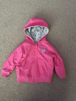 Next Girls Reversible Coat Age 12-18 Months