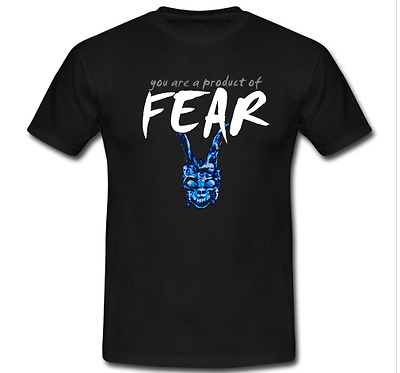 Donnie Darko You are a product of fear tee Richard Kelly S M L XL 2-3XL T-Shirt