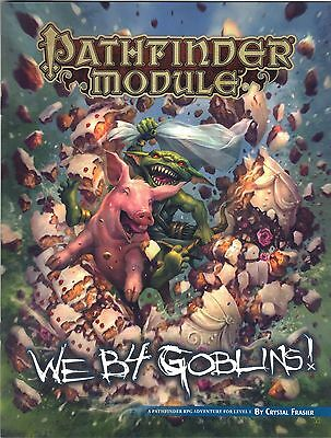Pathfinder Module We B4 Goblins Free D&D 3.5  NEW Price Inc Del in UK
