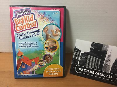 Huggies Pull Ups Big Kid Central Potty Training Success DVD 2009