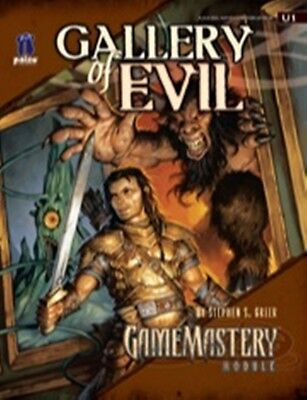 GamesMastery Module Gallery of Evil U1 Pathfinder D&D Price Inc Del in UK