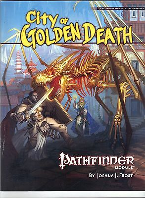 Pathfinder Module City of Golden Death D&D 3.5  NEW Price Inc Del in UK