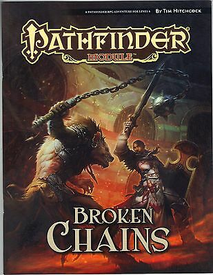 Pathfinder Module Broken Chains D&D 3.5  NEW Price Inc Del in UK