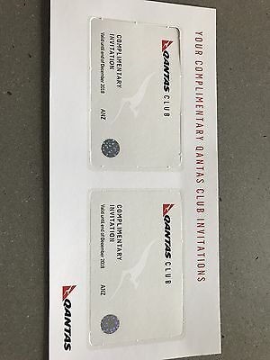 Qantas Lounge Pass x 2