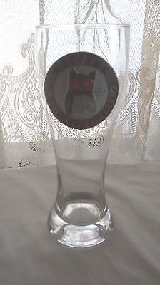 """Hooters Silver Anniversary Beer Pilsner Glass 8 1/2"""" High"""